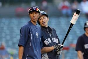 Ichiro+Suzuki+Gosuke+Katoh+New+York+Yankees+y3kOLJ-BBaBl
