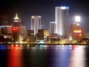 Johor Bahru Night View