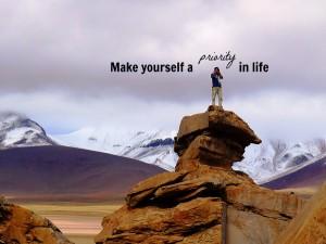 Self-Priority