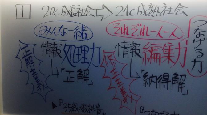 藤原和博さんが教えてくれた「それぞれ一人一人」の時代の「稼ぎ方」:神田昌典ビジネスプロトタイピング講座 その壱