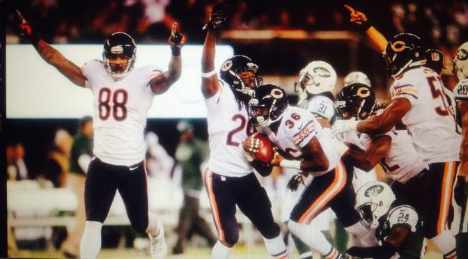 シカゴ・ベアーズ、ニューヨークで逃げ切り2連勝:NFL 2014シーズン第3週