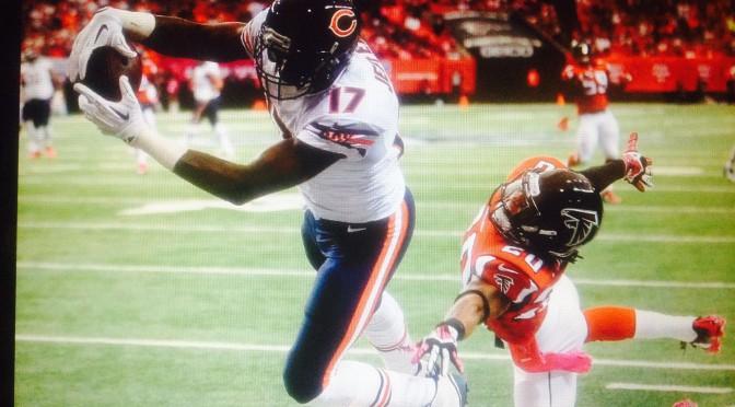 シカゴ・ベアーズ、敵地の逆転劇で3勝3敗:NFL 2014シーズン第6週