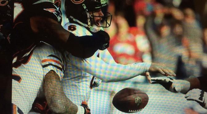 シカゴ・ベアーズ、「やっぱりダメか」の敗戦で前半戦終了3勝5敗:NFL 2014シーズン第8週