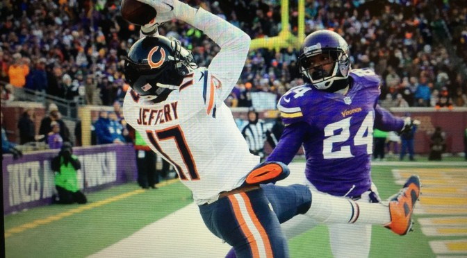 シカゴ・ベアーズ、地区最下位決定戦に尽きて5勝11敗で終戦:NFL 2014シーズン第17週