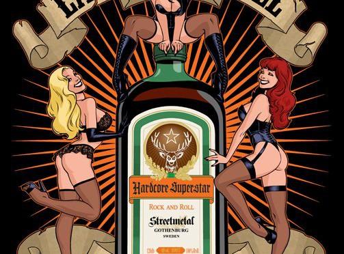 "HARDCORE SUPERSTAR ""Last Call For Alcohol"" ほか、年忘れの酒シーズンに因んで3曲"