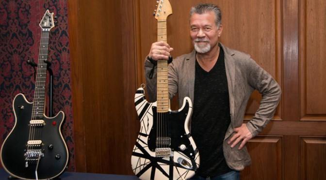 VAN HALEN : Eddie Van Halenのスミソニアン博物館でのインタヴューほか、ここ最近のニュース