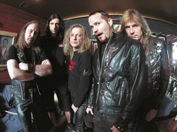Judas Priest Performs in Las Vegas