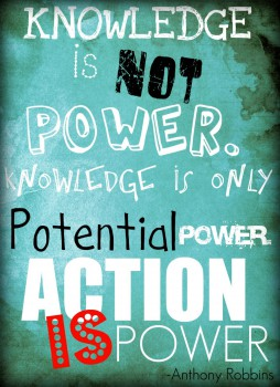 Knowledge-is-not-power