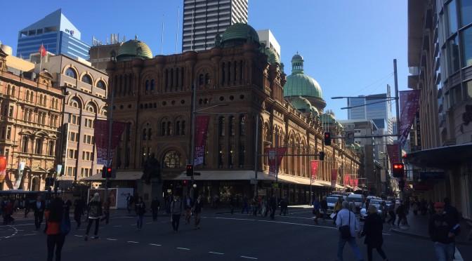 シドニー中心部を北へ南へフットワーク軽やかに2.5日:オーストラリア旅行記 ④