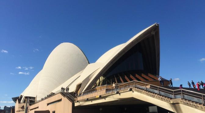 オーストラリア、シドニーに来たのなら、やっぱり向かった先のオペラハウス&ハーバーブリッジ:オーストラリア旅行記 ⑤