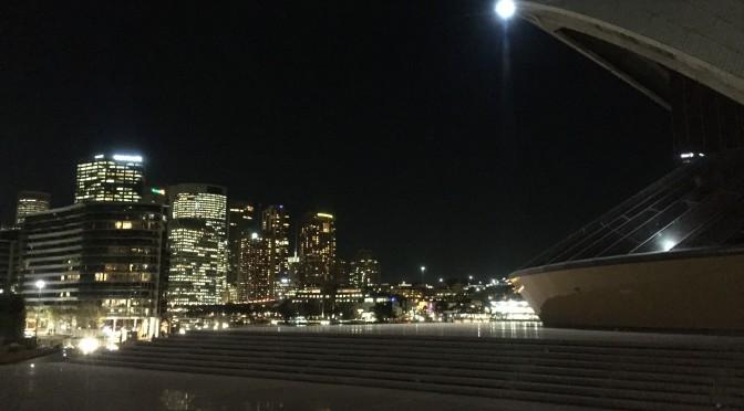 シドニー、ライトアップされたランドマーク & 街並みの実力:オーストラリア旅行記 ⑥