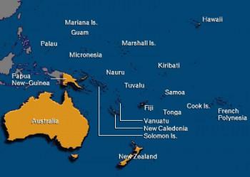 MapOceania