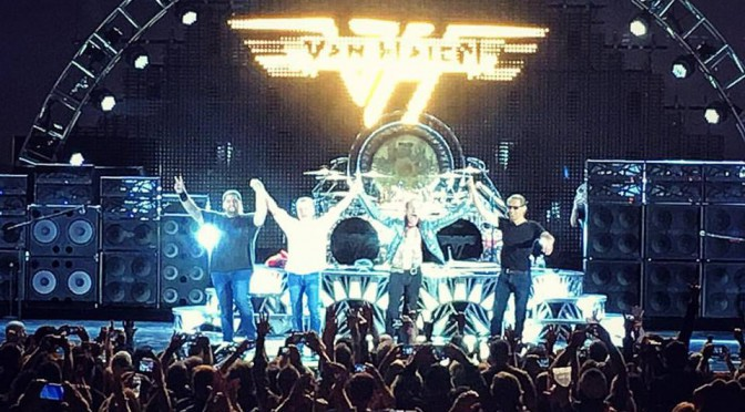 VAN HALEN 2015 NORTH AMERICAN TOUR:HOLLYWOOD BOWL 2公演でツアーファイナル了