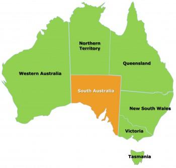 SA map