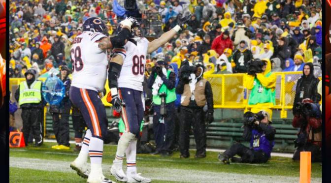 シカゴ・ベアーズ、ゲーム終了間際のスリルを制し、シーズンの望みつなぐ5勝目:NFL2015シーズン第12週