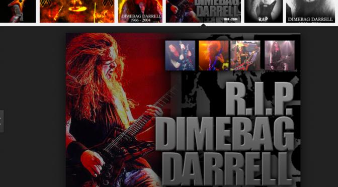 Dimebag Darrell :ダイムバック・ダレル (ex.PANTERA) 11回目の命日が過ぎて感じたこと