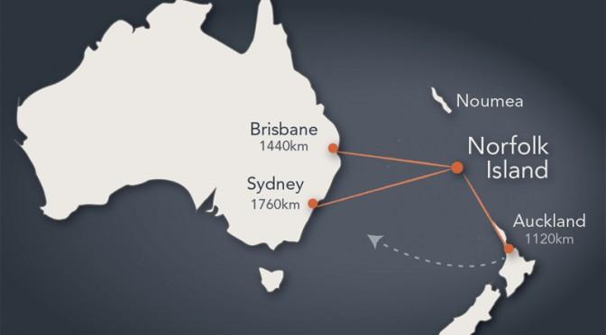 オーストラリア ライフスタイル&ビジネス研究所:海外領土 ④ ー ノーフォーク島