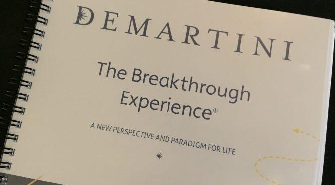ジョン・ディマティーニ博士の『ブレイクスルー・エクスピリエンス』に行って、愛と感謝に包まれてきた(詳細編 ①)