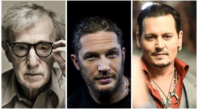ウディ・アレン、トム・ハーディ & ジョニー・デップの気になる新作