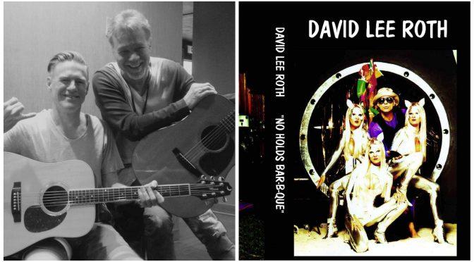 Eddie Van HalenとBryan Adams開演前の交流 & David Lee Rothは過去の迷作を無料公開