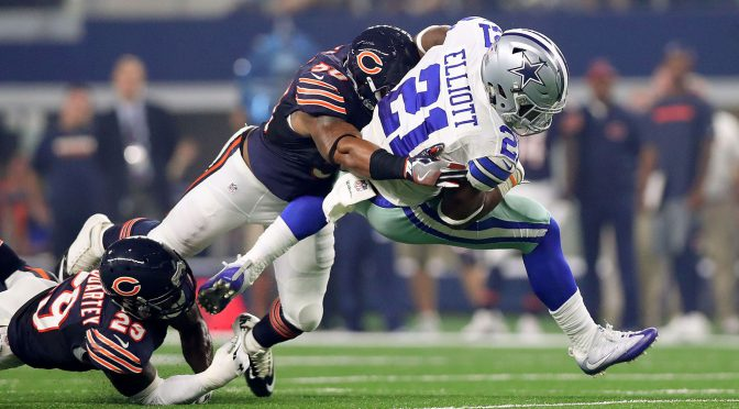シカゴ・ベアーズ、期待しぼむ散々たる開幕3連敗:NFL 2016シーズン 第3週