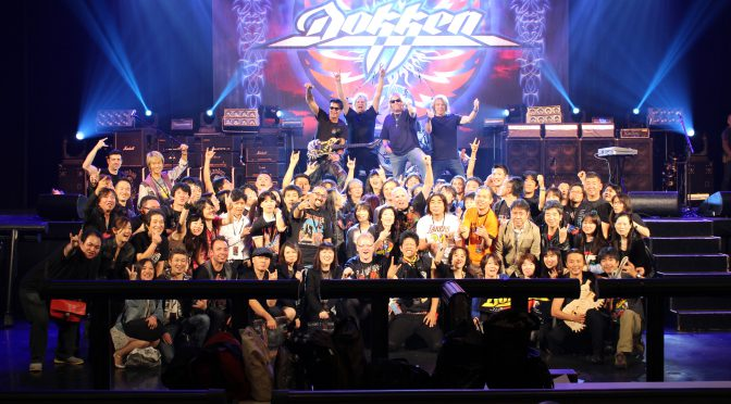 DOKKEN JAPAN TOUR 2016 VIPアップグレード:感激のミート・アンド・グリート(ミーグリ)参加記