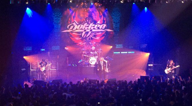DOKKEN 7公演限定で実現した再結成ツアー。最後の舞台、Zepp DiverCityで熱狂した一夜