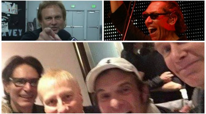 "Eddie Van Halen Facebookページ更新、Michael AnthonyはAlex Van Halenと10年ぶりで & David Lee Roth ""Eat'em And Smile"" 30周年の行方・・"