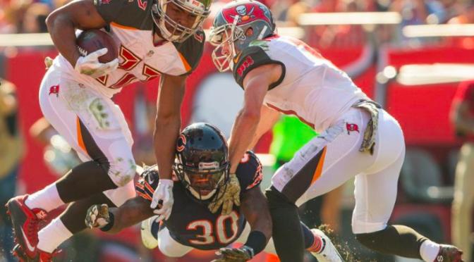 シカゴ・ベアーズ、負けに不思議の負けなしでシーズン7敗目、、:NFL 2016シーズン 第10週