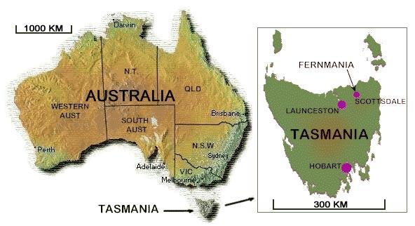 オーストラリア ライフスタイル&ビジネス研究所:タスマニア州 紹介