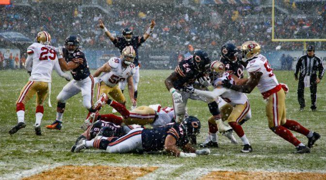 シカゴ・ベアーズ、どっこい死んでなかった!?雪中のゲームを制しシーズン3勝目:NFL 2016シーズン 第13週