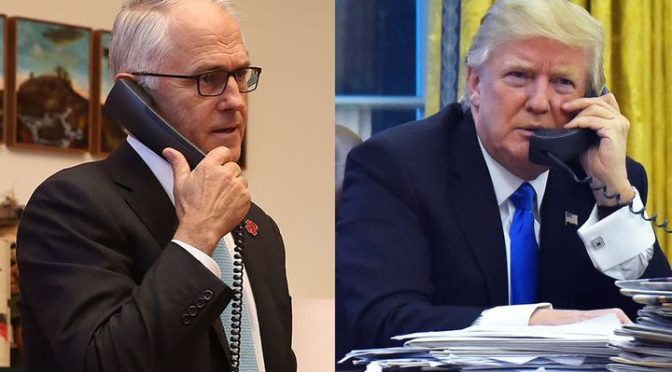 オーストラリア ライフスタイル&ビジネス研究所:ターンブル首相とトランプ大統領の電話会談、なぜ揉めたのか?