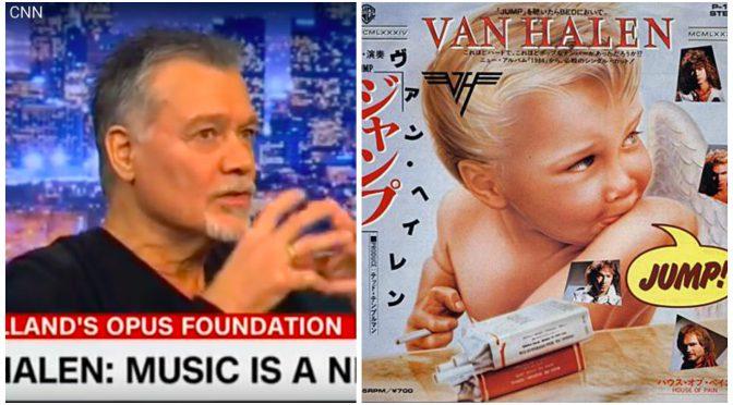 Eddie Van Halen CNN出演で音楽教育の危機を訴える & 2月25日 Jump  Billboard #1 メモリアル