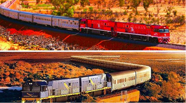オーストラリア ライフスタイル&ビジネス研究所:1度は乗ってみたい!世界各地で人気の「列車旅」16選(ザ・ガン鉄道 & インディアン・パシフィック号 )