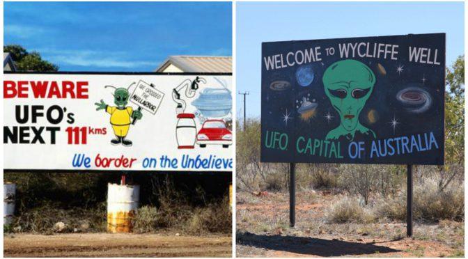 オーストラリア ライフスタイル&ビジネス研究所:世界のUFO出現スポット(ナラボー平原、ウィクリフ・ウェル)