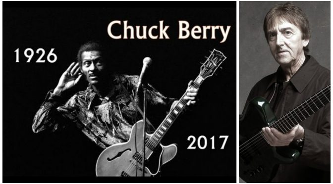 追悼 Chuck Berry(チャック・ベリー)& Allan Holdsworth(アラン・ホールズワース)