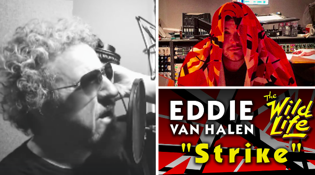 VAN HALEN(2017-4)Wolfgang Van Halenはソロアルバム製作、Sammy HagarはDavid Lee Rothを含むTHE BEST OF BOTH WORLDS TOURを提案、Eddie Van HalenはStrike音源・・