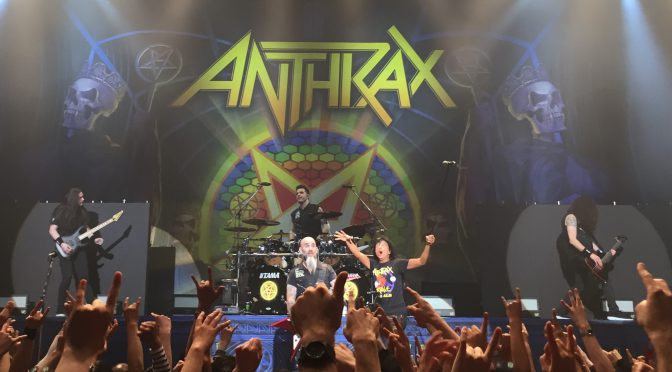 ANTHRAXとMEGADETHが一緒にライヴすりゃ、そりゃ盛り上がる:MEGADETH JAPAN TOUR 2017 SPECIAL GUEST ANTHRAX 参加記(ANTHRAX編)