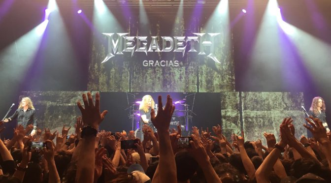ANTHRAXとMEGADETHが一緒にライヴすりゃ、そりゃ盛り上がる:MEGADETH JAPAN TOUR 2017 SPECIAL GUEST ANTHRAX 参加記(MEGADETH編)