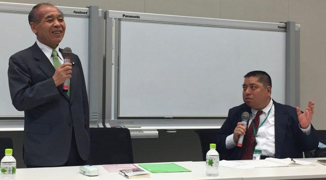 鈴木宗男、佐藤優両先生登壇の勉強会で日露外交、共謀罪の行方などについて学んできた。:「東京大地塾」参加記 ⑦
