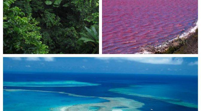 オーストラリア ライフスタイル&ビジネス研究所:ここは地球?思わず息を呑む世界の絶景ベスト50(ケープ・トリビュレーション、グレートバリアリーフ、ヒラー湖)