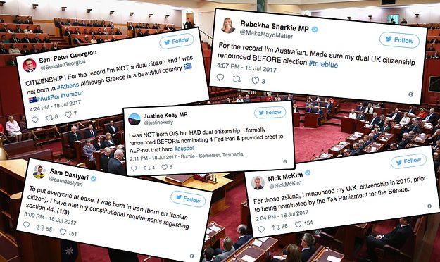 オーストラリア ライフスタイル&ビジネス研究所:政界を揺るがす二重国籍問題