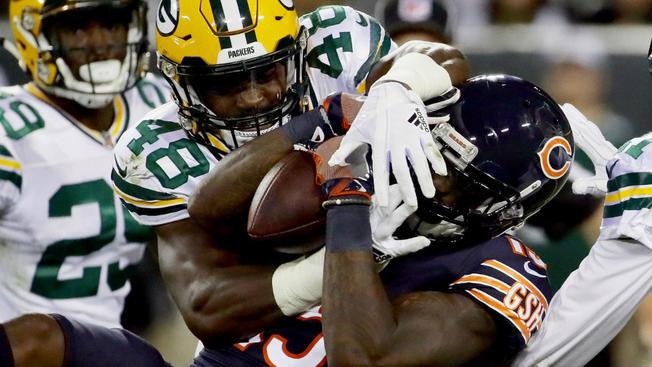 シカゴ・ベアーズ、「なんだ、ダメじゃ〜ん」でライヴァルに屈す:NFL 2017シーズン 第4週