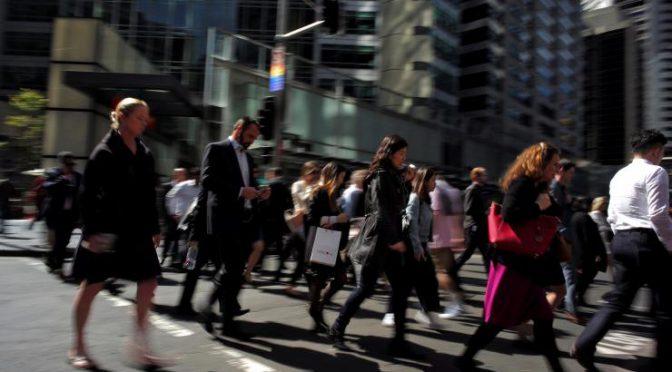 オーストラリア ライフスタイル&ビジネス研究所:失業率 − 2017年8月