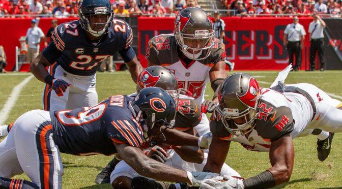 シカゴ・ベアーズ、ボロ負け。痛い連敗スタートで早くも正念場:NFL 2017シーズン 第2週