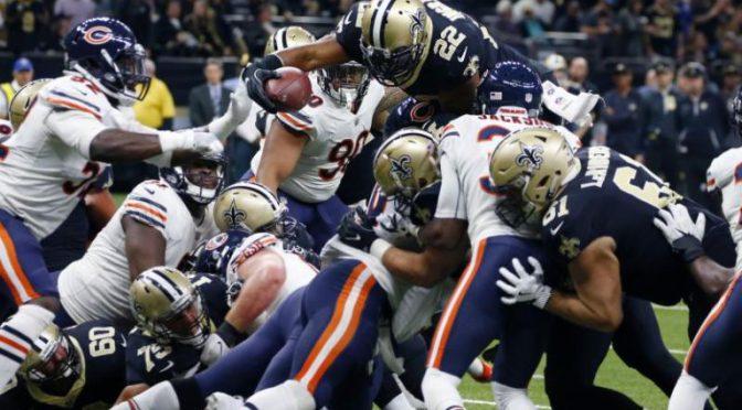 シカゴ・ベアーズ、ニューオリンズで勝率.500の壁に屈し、シーズン3勝5敗で前半戦終了 :NFL 2017シーズン 第8週