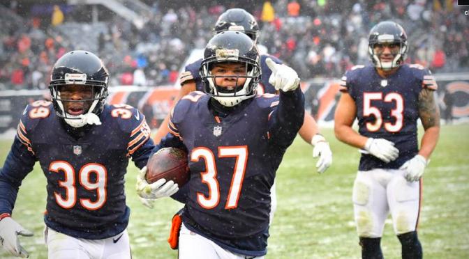 シカゴ・ベアーズ、逸勝のプレッシャーを跳ね返しシーズン5勝目:NFL 2017シーズン 第16週