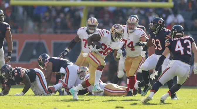シカゴ・ベアーズ、底なしで希望も砕かれる5連敗:NFL 2017シーズン 第13週