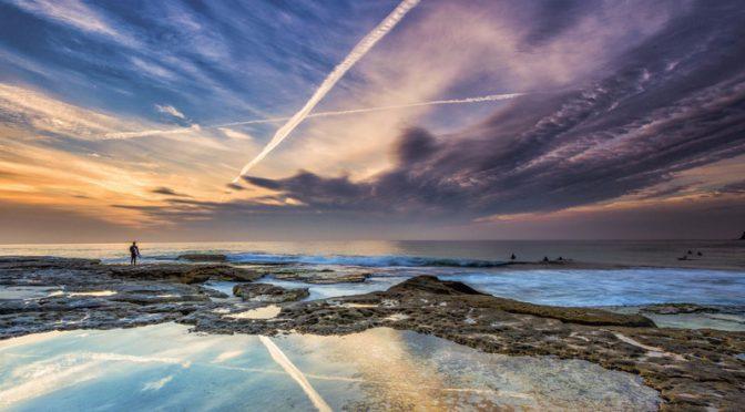 オーストラリア ライフスタイル&ビジネス研究所:ドローンで撮影、空から眺める世界の絶景スポット100選(タマラマ:Tamarama beach)