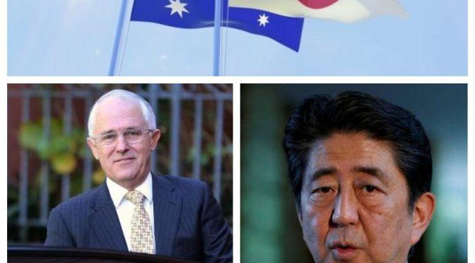 オーストラリア ライフスタイル&ビジネス研究所:ターンブル首相来日で1月18日に日豪首脳会談